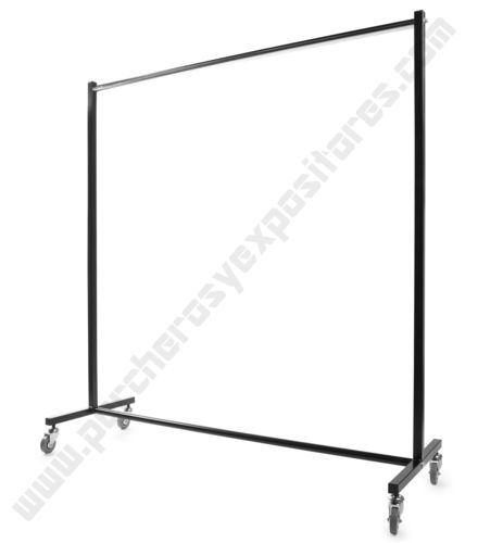 Perchero industrial  1 barra de 150cms modelo ECM-200